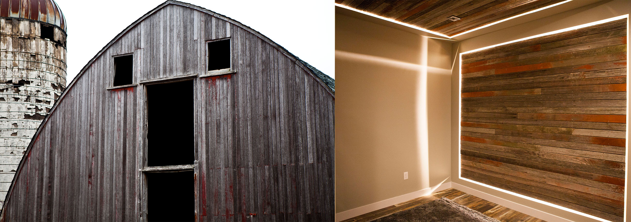 The Klassen Barns Redwood Has a New Home at Dudley's Rush
